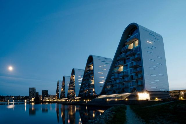 The Wave residential project in Vejle (2)