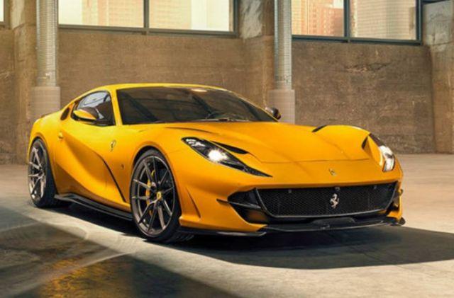 The amazing Novitec Ferrari 812 Superfast