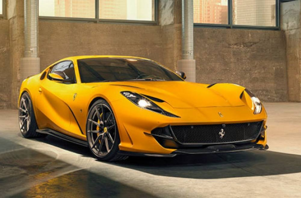 The amazing Novitec Ferrari 812 Superfast