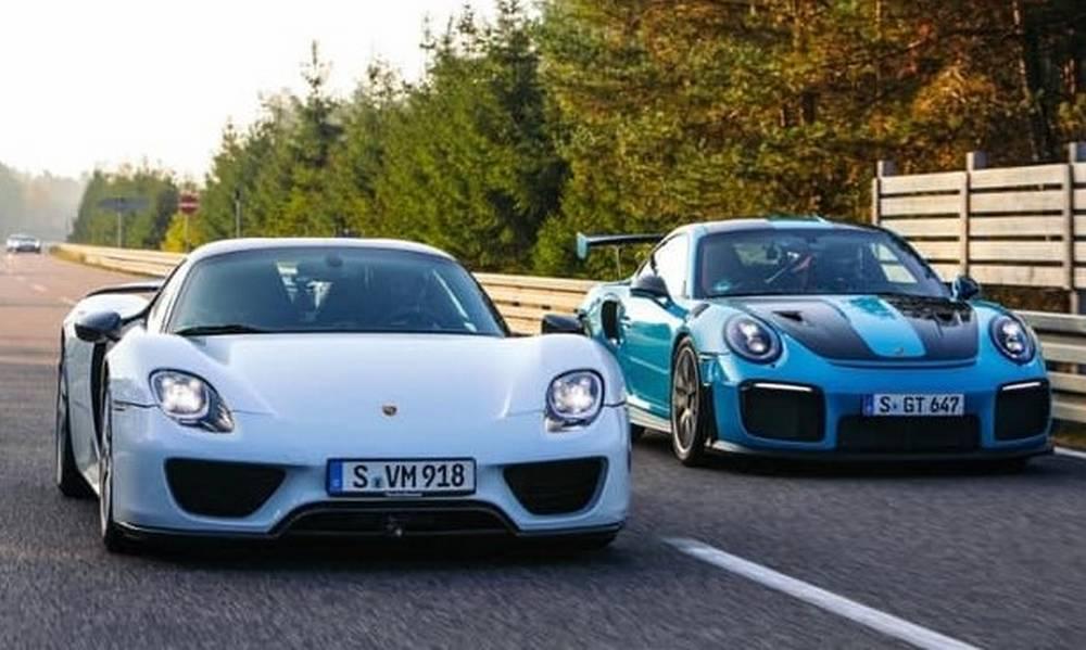 The fastest street-legal Porsche cars