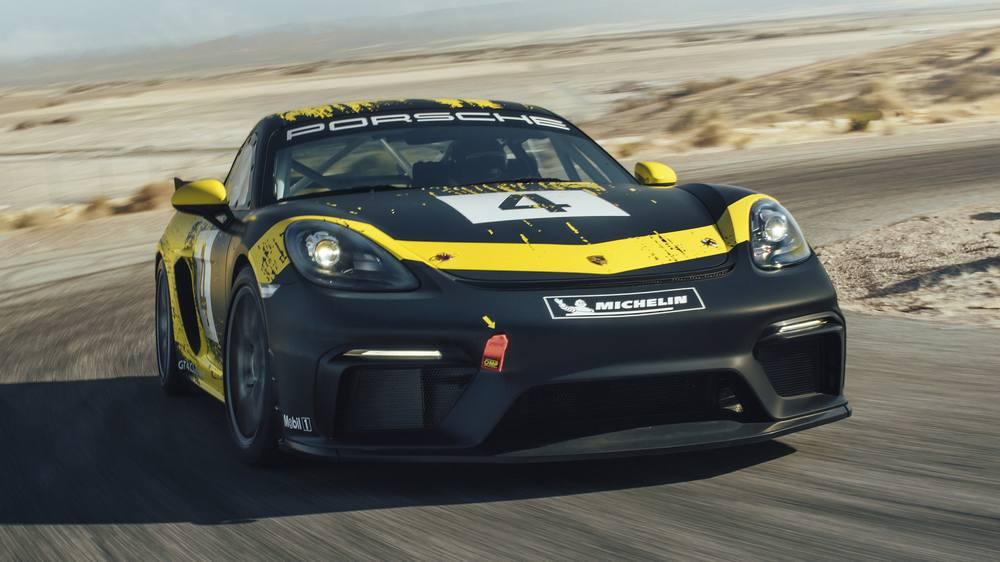 Build A Lexus >> The new Porsche 718 Cayman GT4 Clubsport | wordlessTech