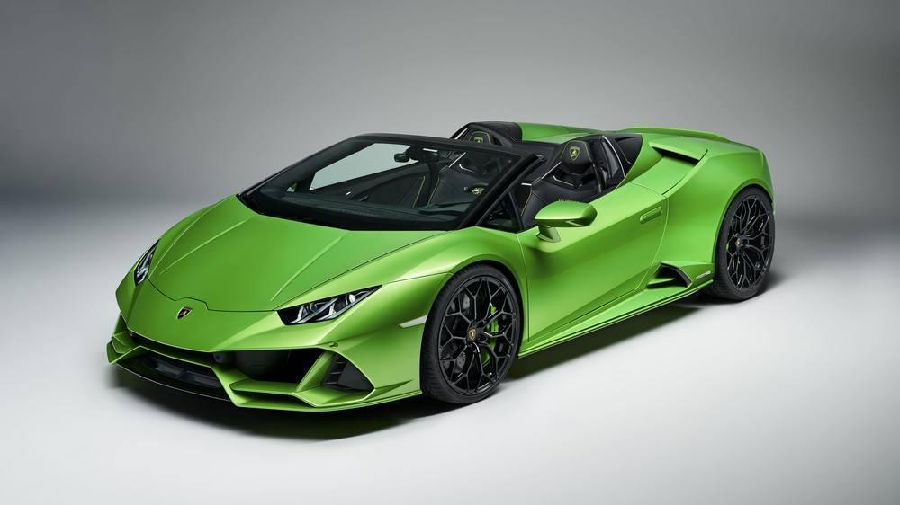 2020 Lamborghini Huracan Evo Spyder (10)
