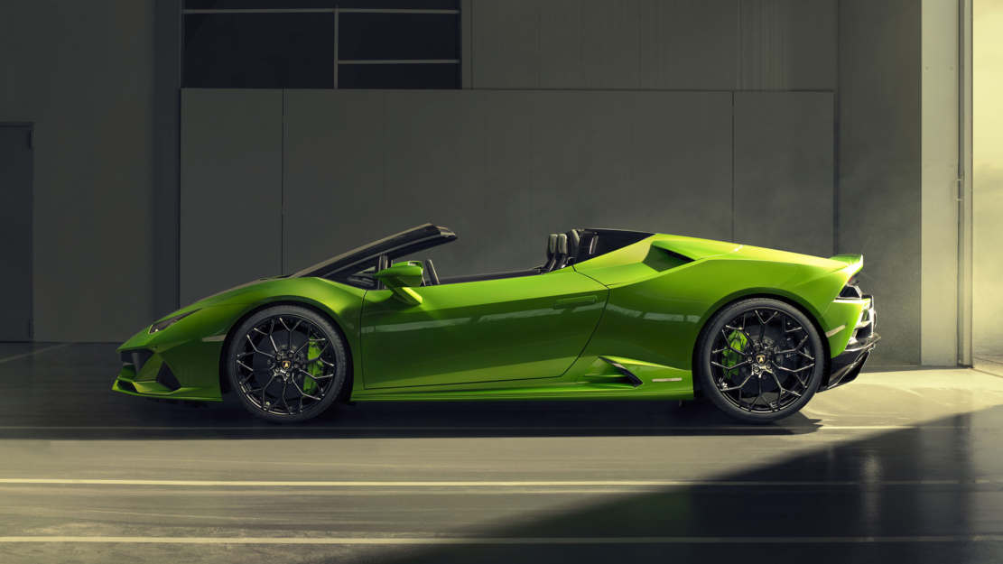 2020 Lamborghini Huracan Evo Spyder (1)