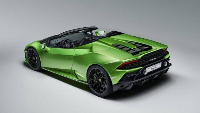 2020 Lamborghini Huracan Evo Spyder (9)