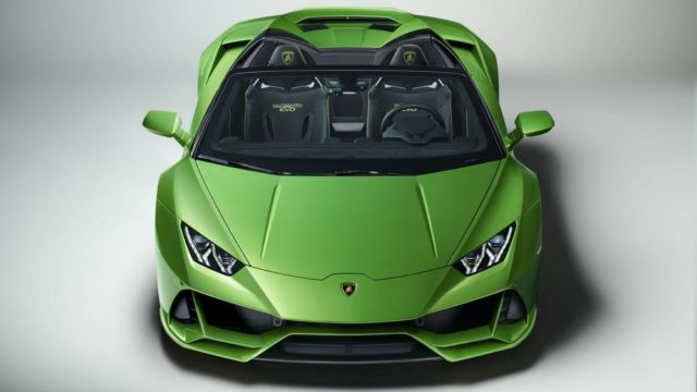 2020 Lamborghini Huracan Evo Spyder (8)
