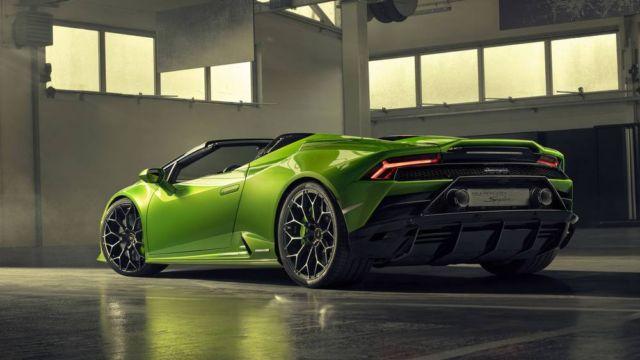 2020 Lamborghini Huracan Evo Spyder (7)