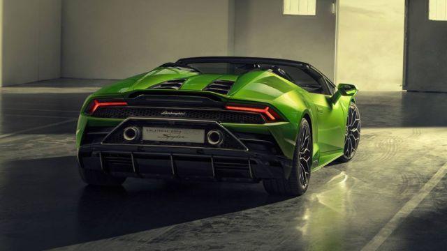 2020 Lamborghini Huracan Evo Spyder (4)