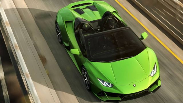 2020 Lamborghini Huracan Evo Spyder (3)