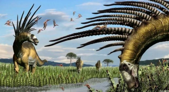A new long-spined dinosaur from Patagonia