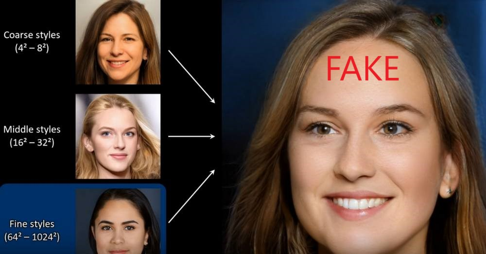 AI Continuously Generate Fake Faces