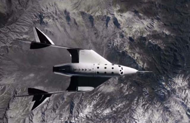 Amazing video of 2nd Virgin Galactic Spaceflight