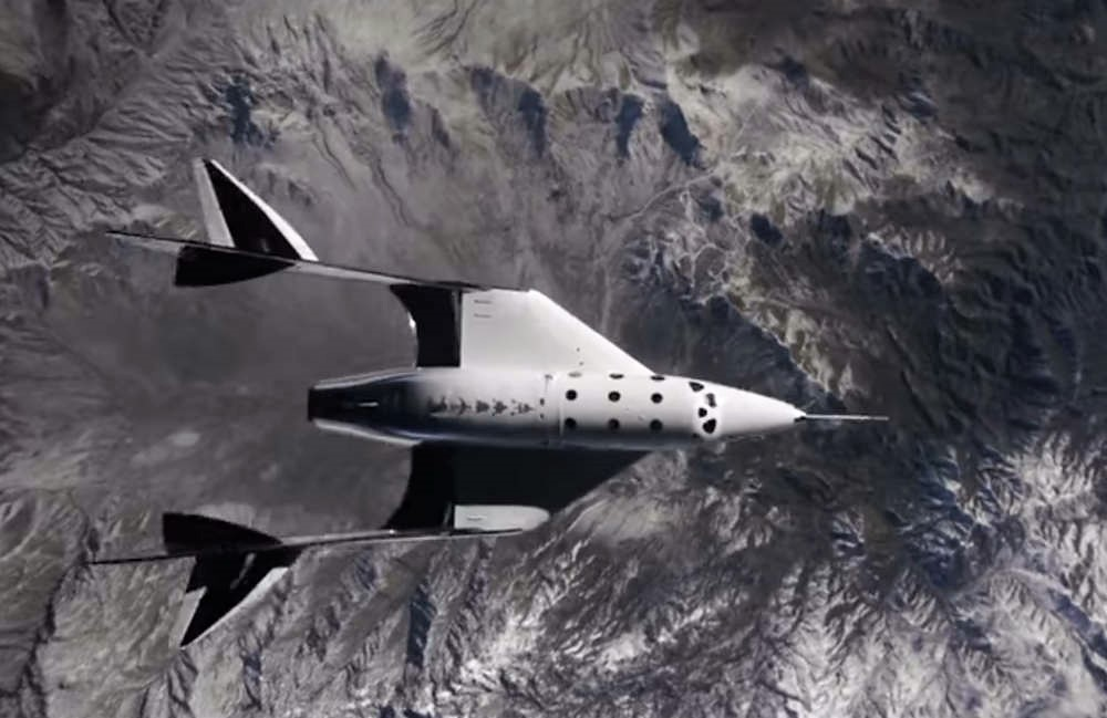 Amazing video of 2nd Virgin Galactic Spaceflight