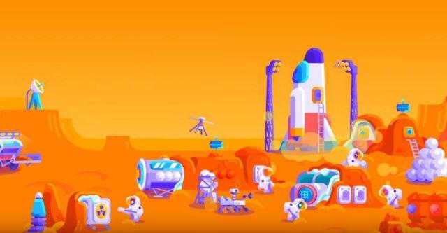 Building a Mars-base