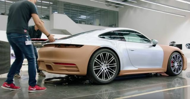 Development of 2020 Porsche 911