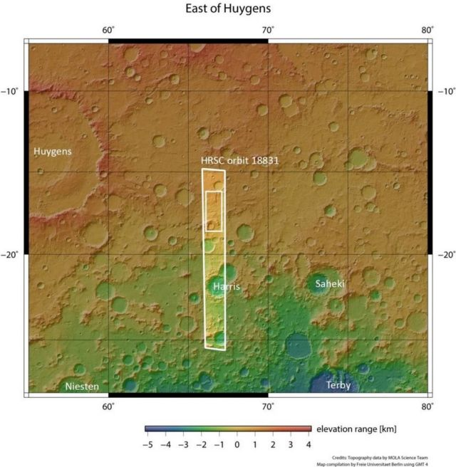 Evidence of Ancient Flowing Water on Mars