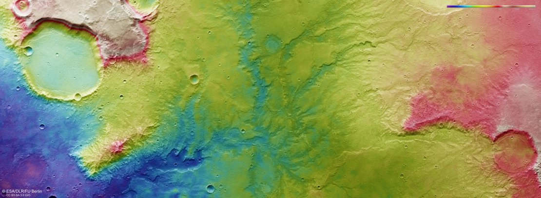 Evidence of Ancient Flowing Water on Mars (1)