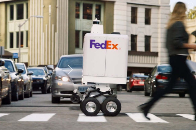 FedEx SameDay Autonomous Bot