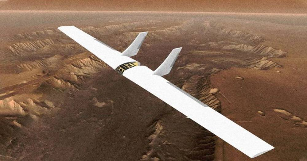 Inflatable Sailplane to Explore Mars