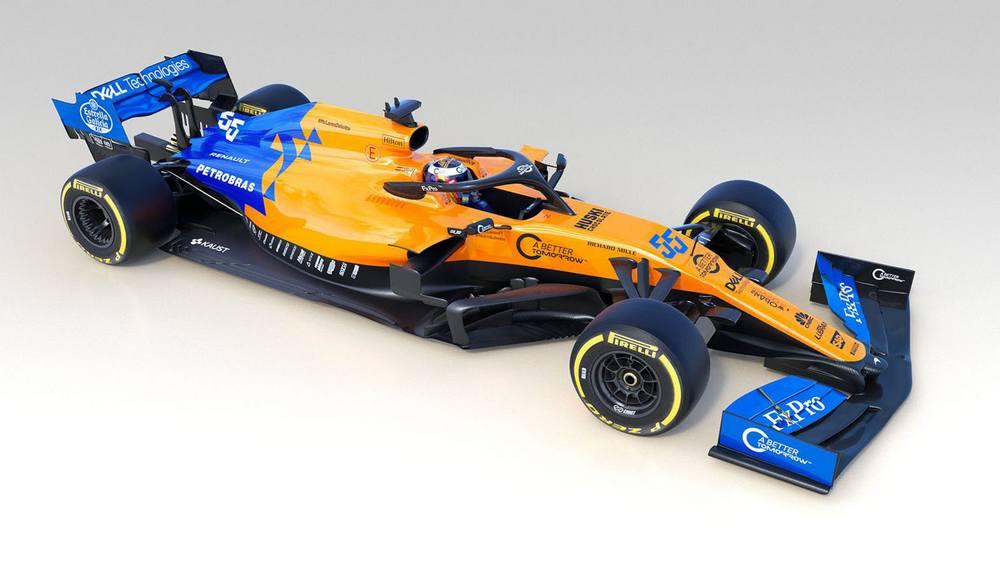 McLaren's new 2019 F1 car