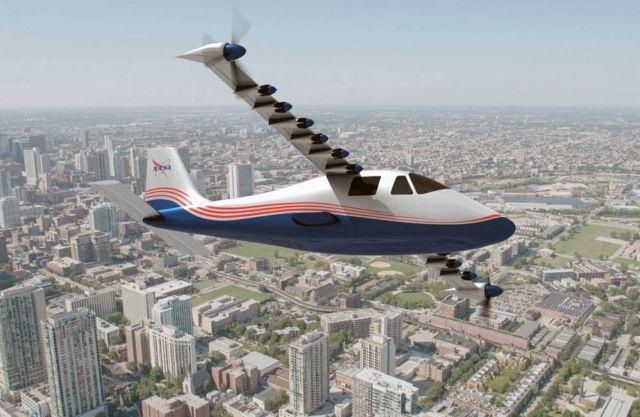 NASA's X-57 'Maxwell'