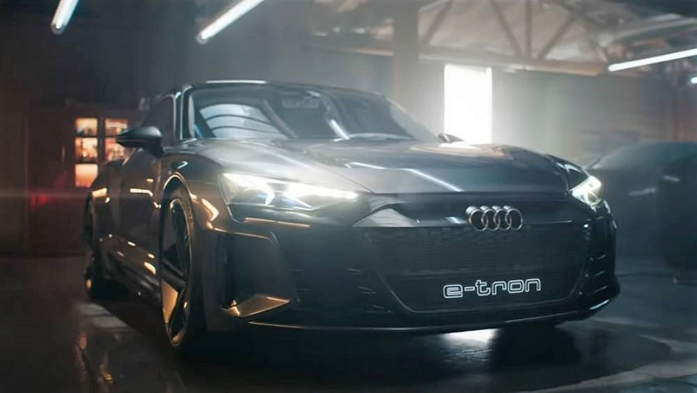 New Audi e-Tron GT Concept