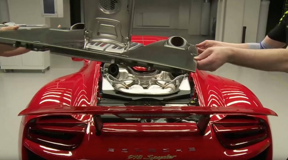 Porsche 918 Spyder Factory Assembly