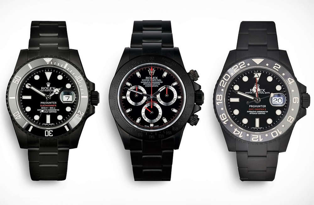 Pro Hunter Rolex Stealth Watches