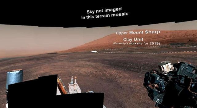 Stunning 360° video on Mars
