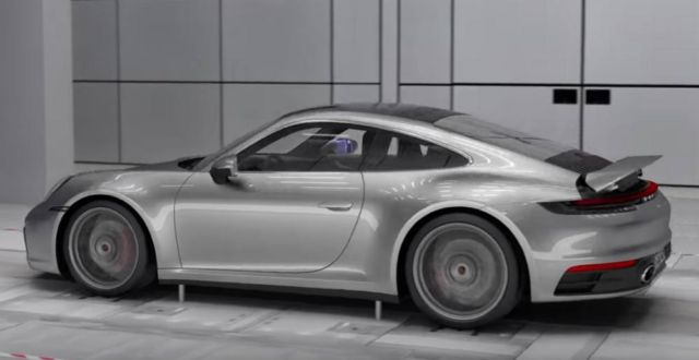 The Adaptive Aerodynamics of new Porsche 911 (2)