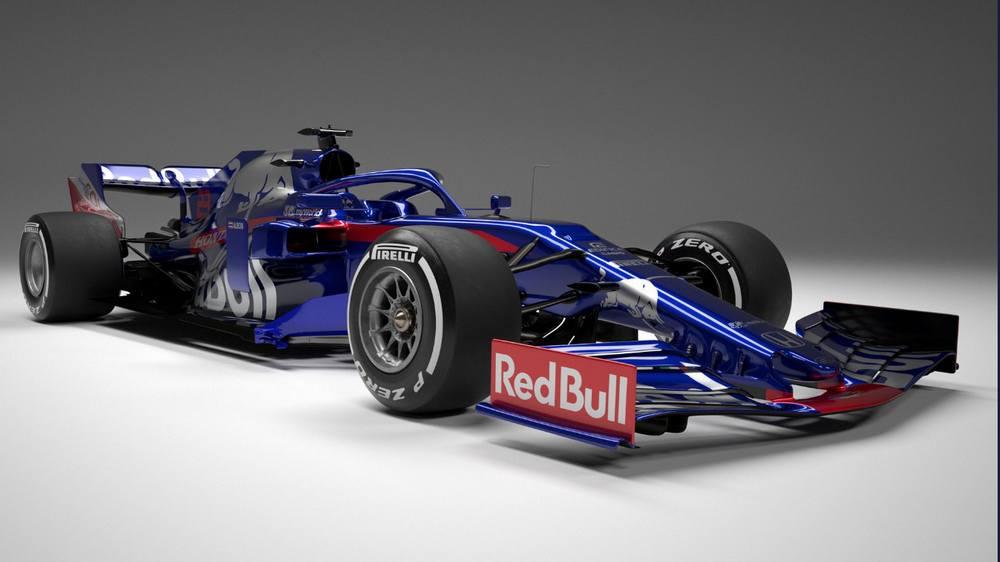 Toro Rosso 2019 Formula One car (4)