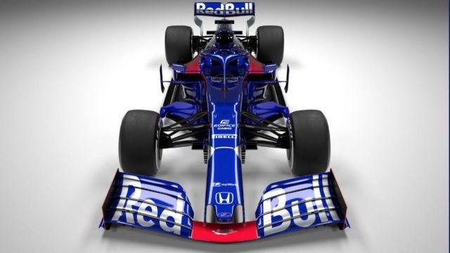 Toro Rosso 2019 Formula One car (3)