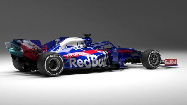 Toro Rosso 2019 Formula One car (2)