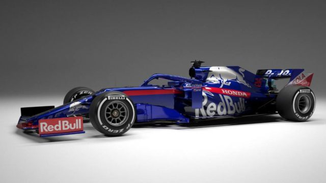 Toro Rosso 2019 Formula One car (1)