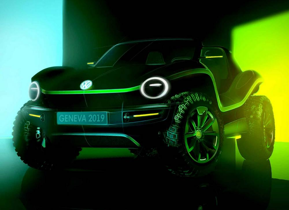 VW fully electric Dune Buggy