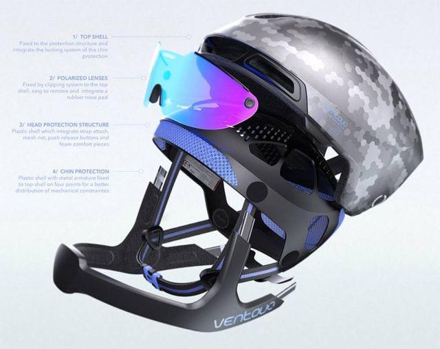 Ventoux Hybrid Cyclists Helmet (3)
