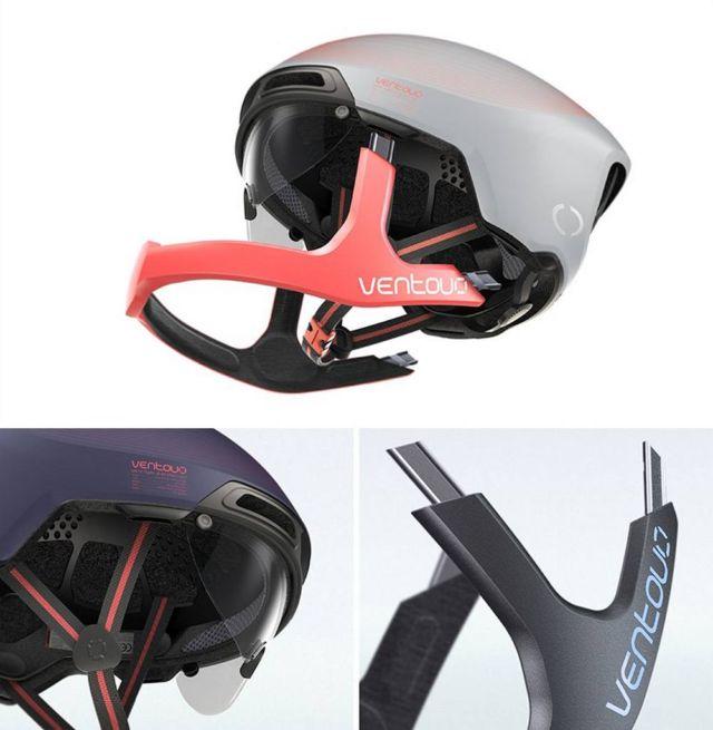 Ventoux Hybrid Cyclists Helmet (2)