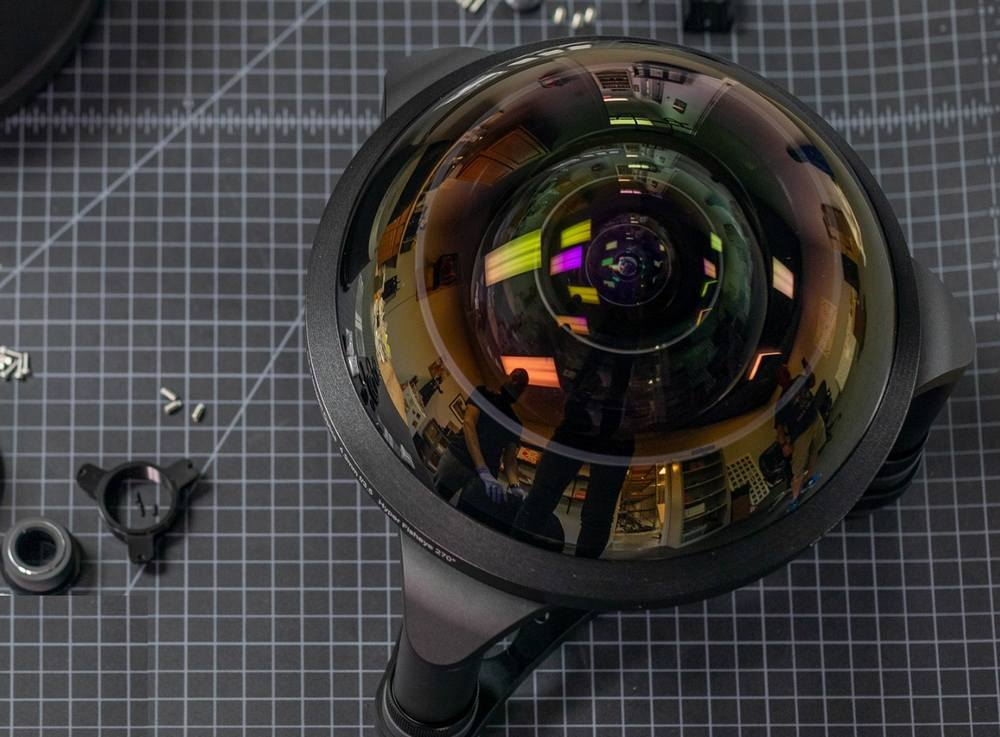 World's Widest 270-degree Angle Fisheye Lens