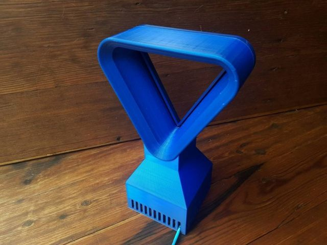 You can 3D Print this Triangular Bladeless Fan