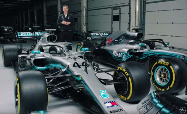 2019 vs 2018 Mercedes F1 Car Explained