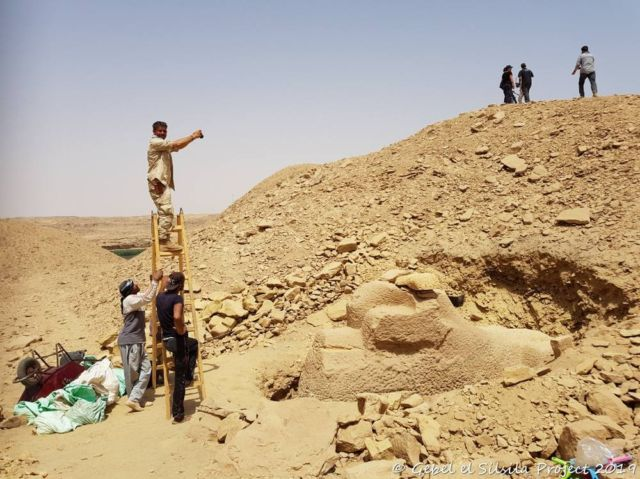 3,000-year-old Ram-headed Sphinx discovered