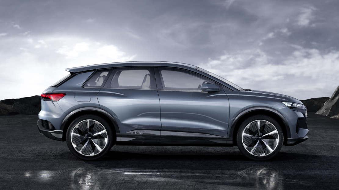 Audi Q4 e-tron concept at Geneva Motor Show (1)