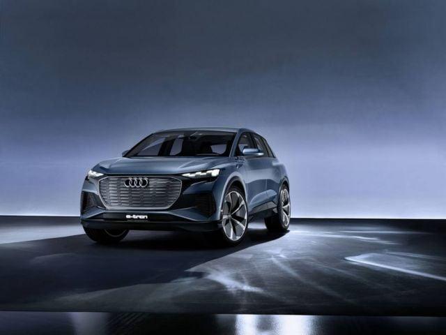 Audi Q4 e-tron concept at Geneva Motor Show (8)