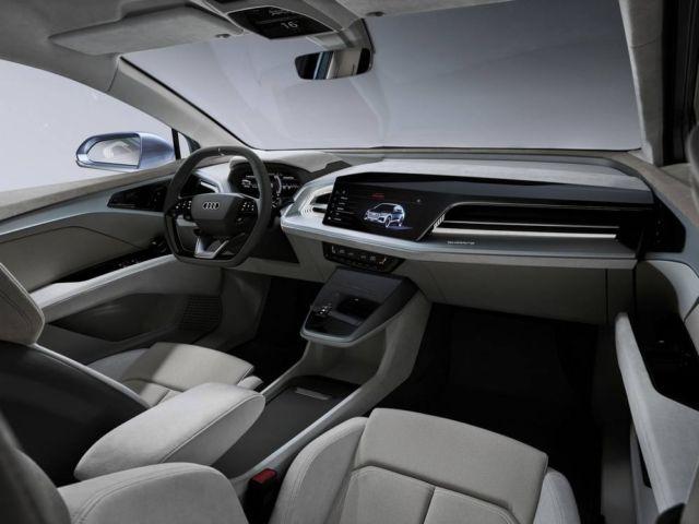 Audi Q4 e-tron concept at Geneva Motor Show (4)