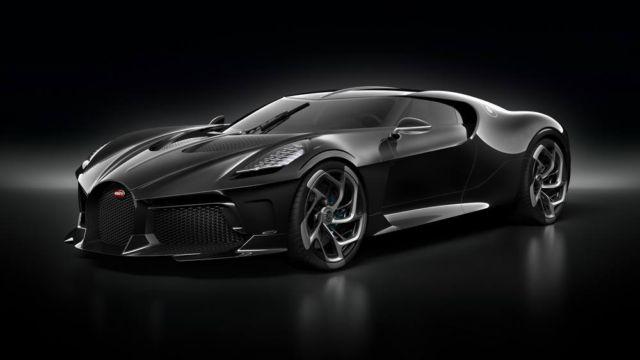 Bugatti La Voiture Noire Coupe unique Hyper Sports car