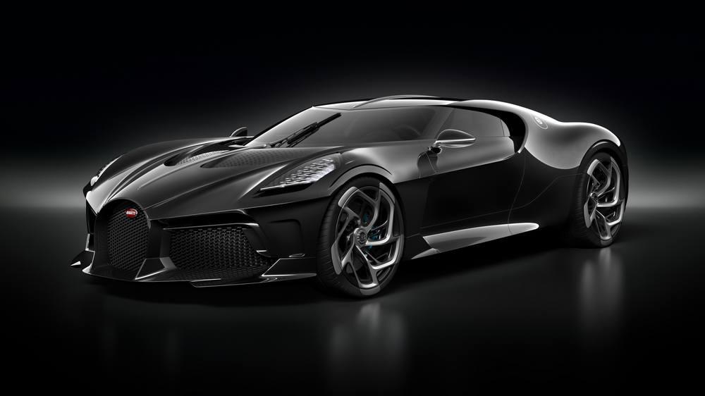 Bugatti La Voiture Noire Coupe unique Hyper Sports car (7)