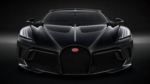 Bugatti La Voiture Noire Coupe unique Hyper Sports car (5)