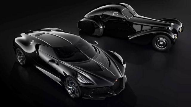Bugatti La Voiture Noire Coupe unique Hyper Sports car (4)