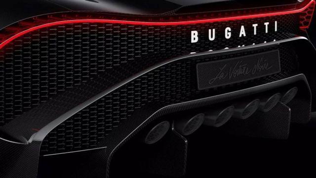Bugatti La Voiture Noire Coupe unique Hyper Sports car (2)
