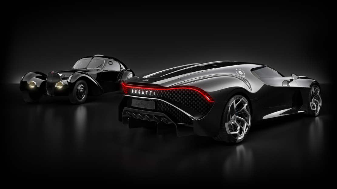 Bugatti La Voiture Noire Coupe unique Hyper Sports car (1)