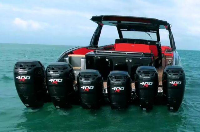 Cigarette Racing 59' Tirranna speedboat (1)